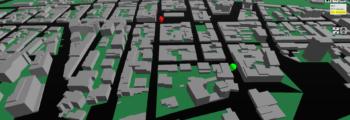 Comune di Follonica – Sistema virtuale 3D web 2.0 per flussi Piano del traffico (PUT)
